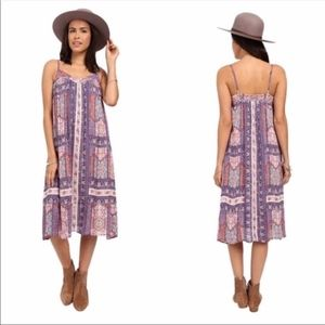 Lucky Brand Tapestry Print Multicolor Dress NWT